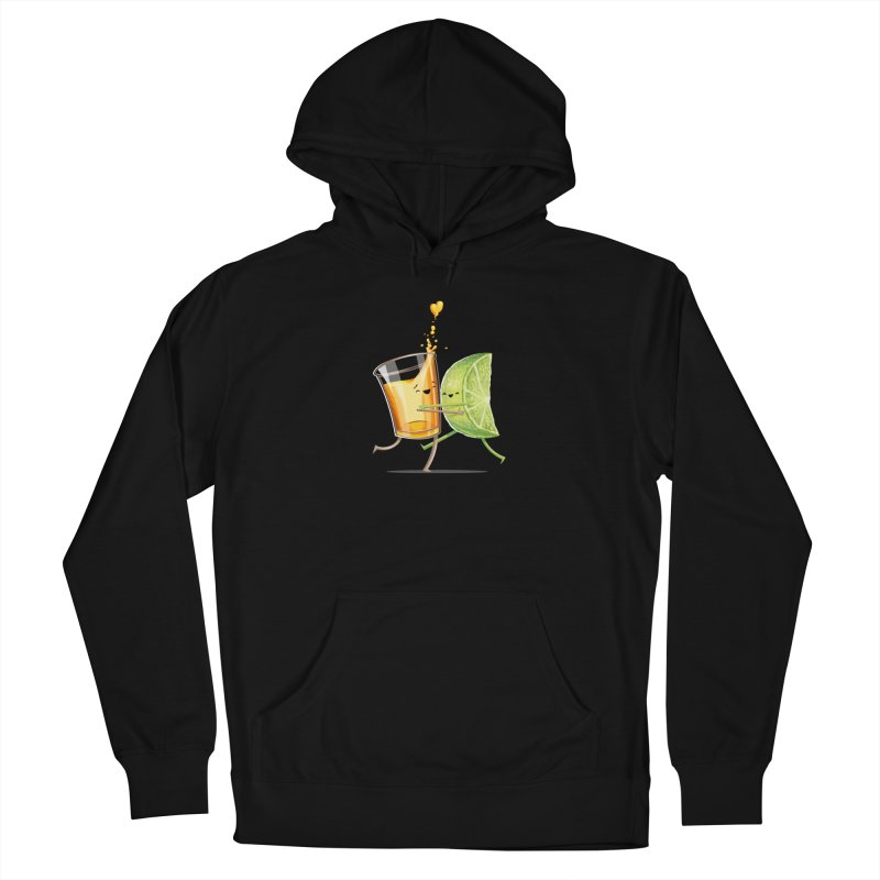 Party Shot Men's French Terry Pullover Hoody by T2U