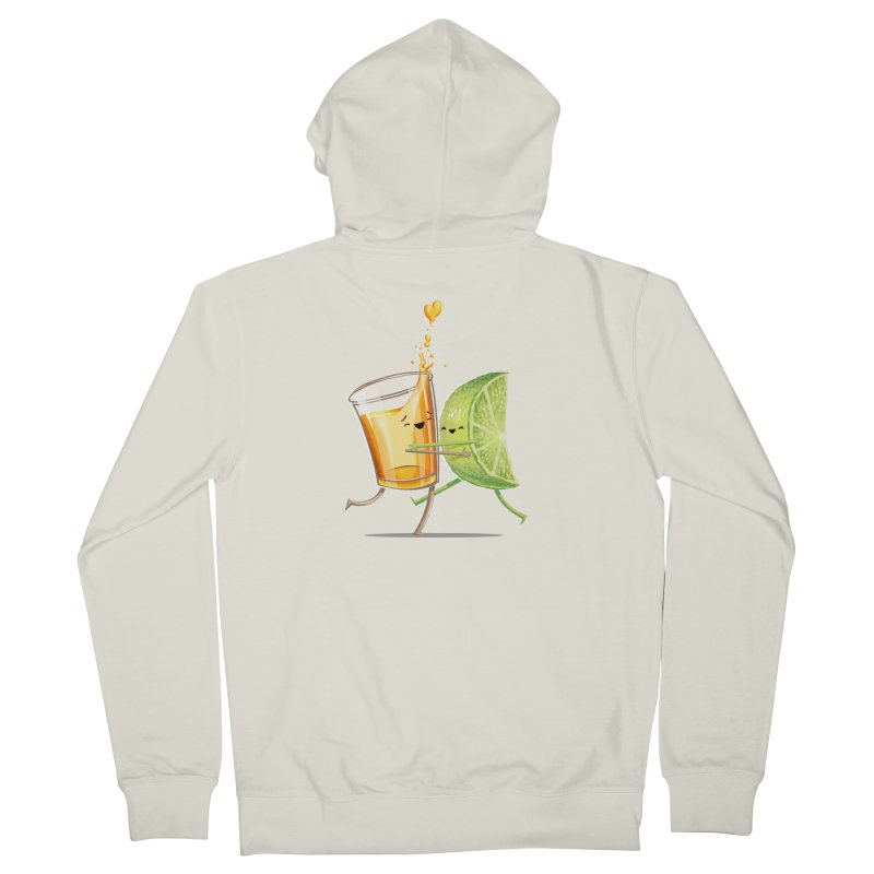 Party Shot Women's French Terry Zip-Up Hoody by T2U