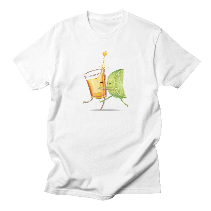 Party Shot Men's T-shirt by Tiago Möller Art Shop