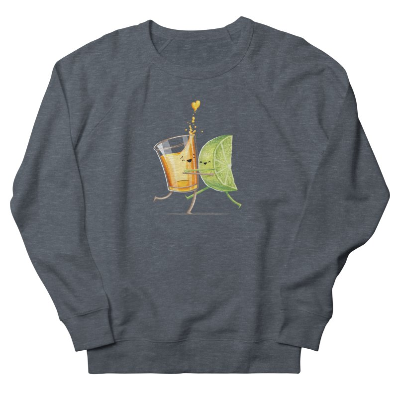 Party Shot Men's French Terry Sweatshirt by T2U