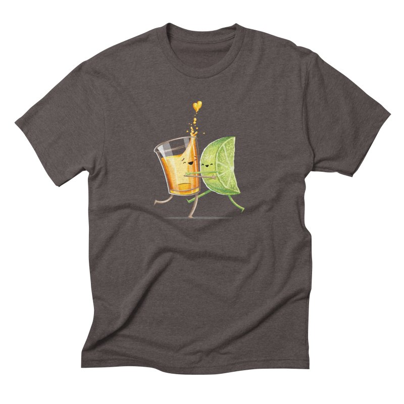 Party Shot Men's Triblend T-Shirt by T2U