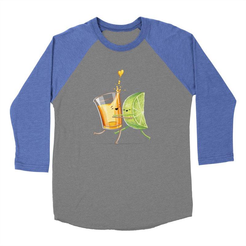 Party Shot Women's Baseball Triblend Longsleeve T-Shirt by T2U