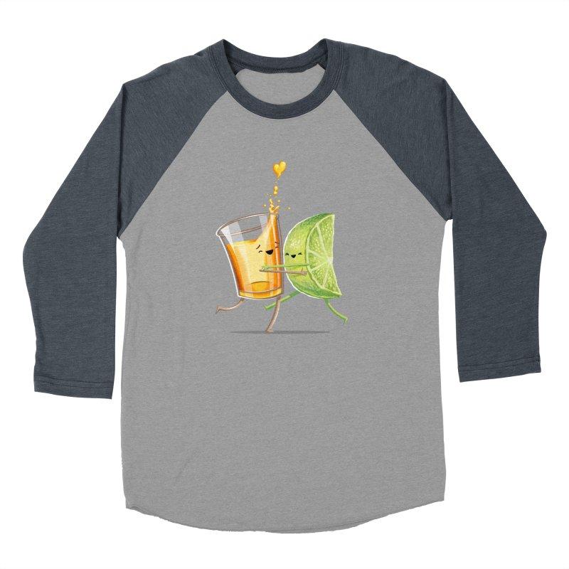 Party Shot Men's Baseball Triblend Longsleeve T-Shirt by T2U