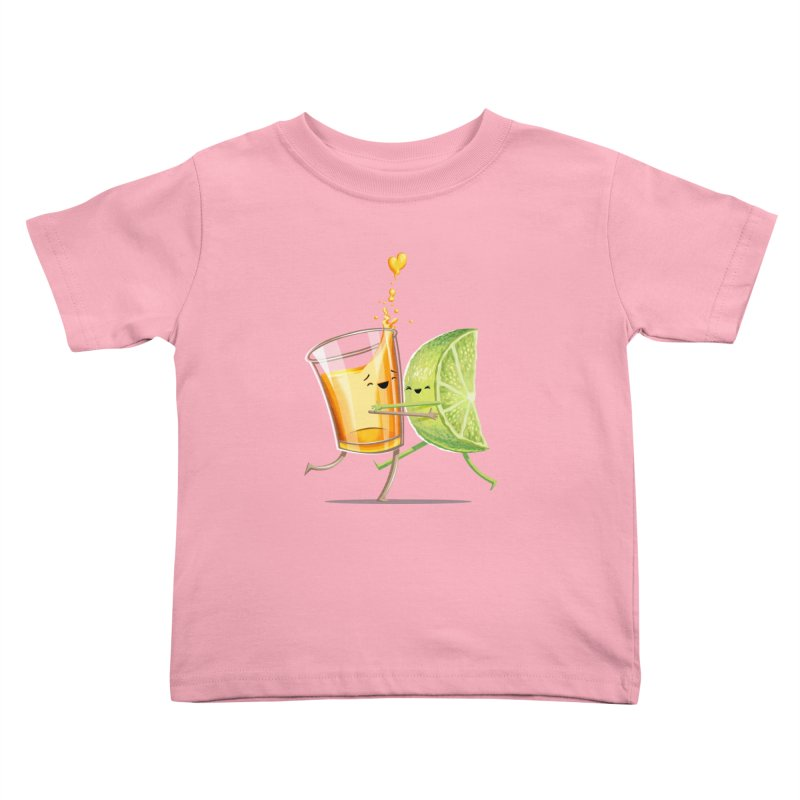 Party Shot Kids Toddler T-Shirt by T2U