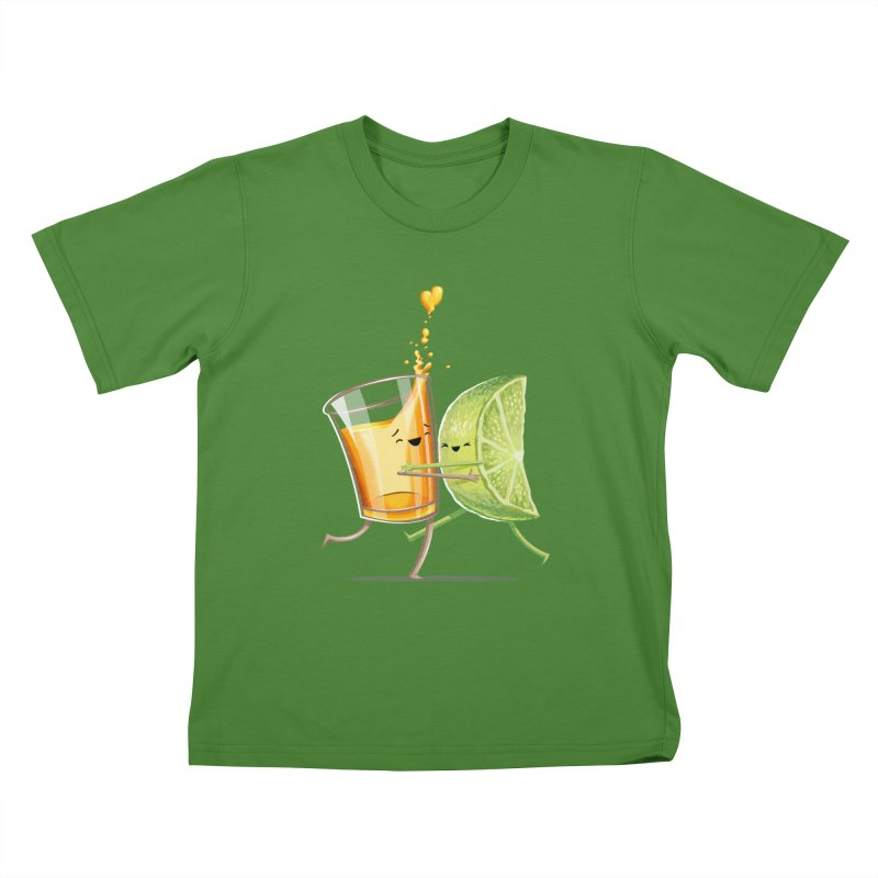 Party Shot Kids T-shirt by Tiago Möller Art Shop