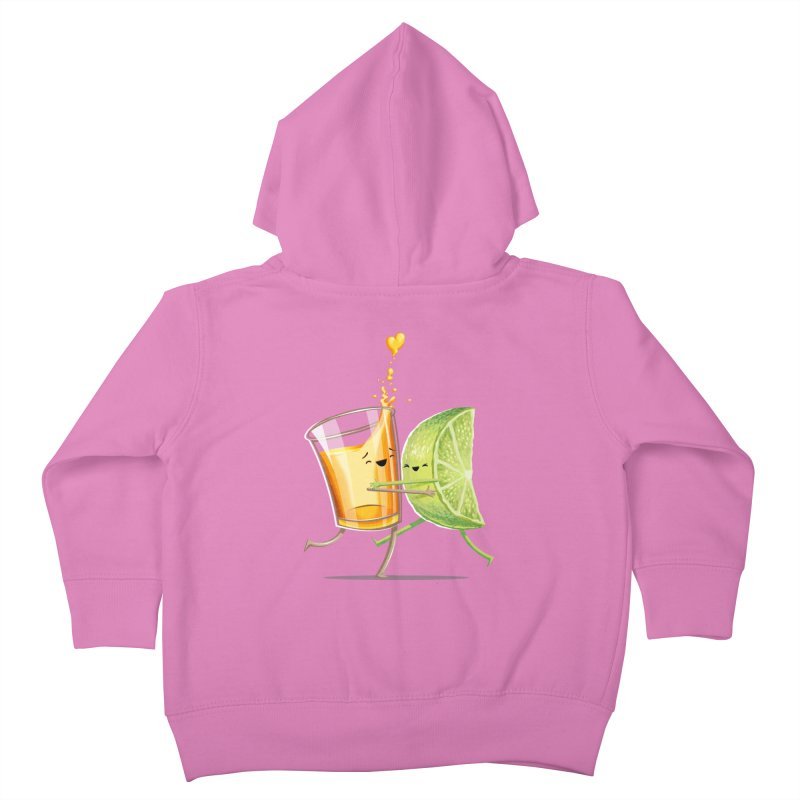 Party Shot Kids Toddler Zip-Up Hoody by T2U