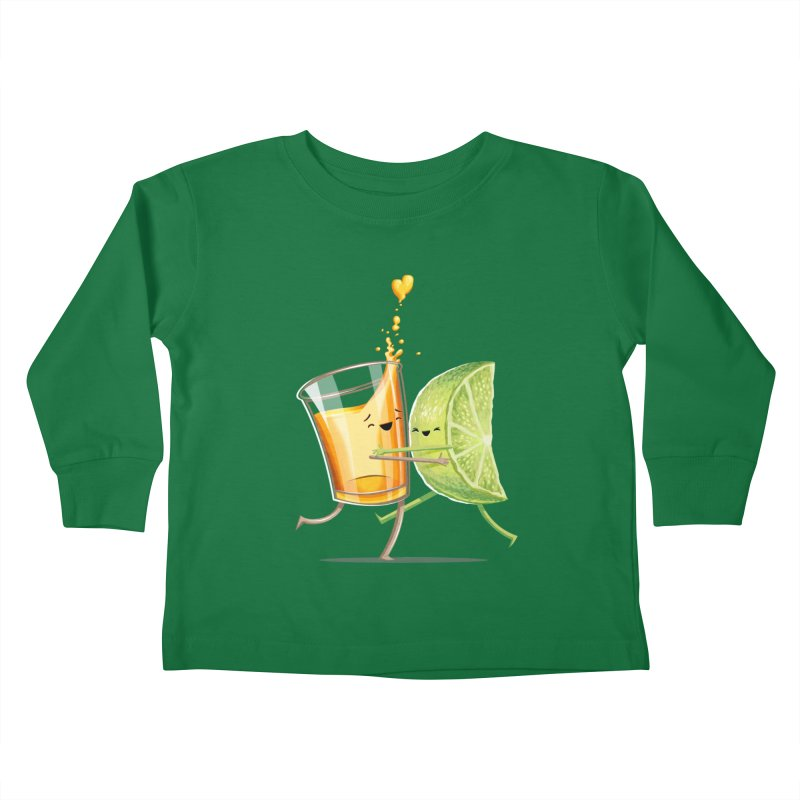 Party Shot Kids Toddler Longsleeve T-Shirt by T2U