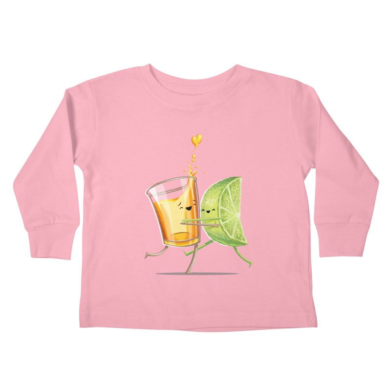 Party Shot Kids Toddler Longsleeve T-Shirt by T2U