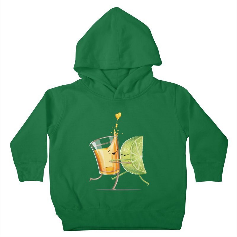 Party Shot Kids Toddler Pullover Hoody by Tiago Möller Art Shop