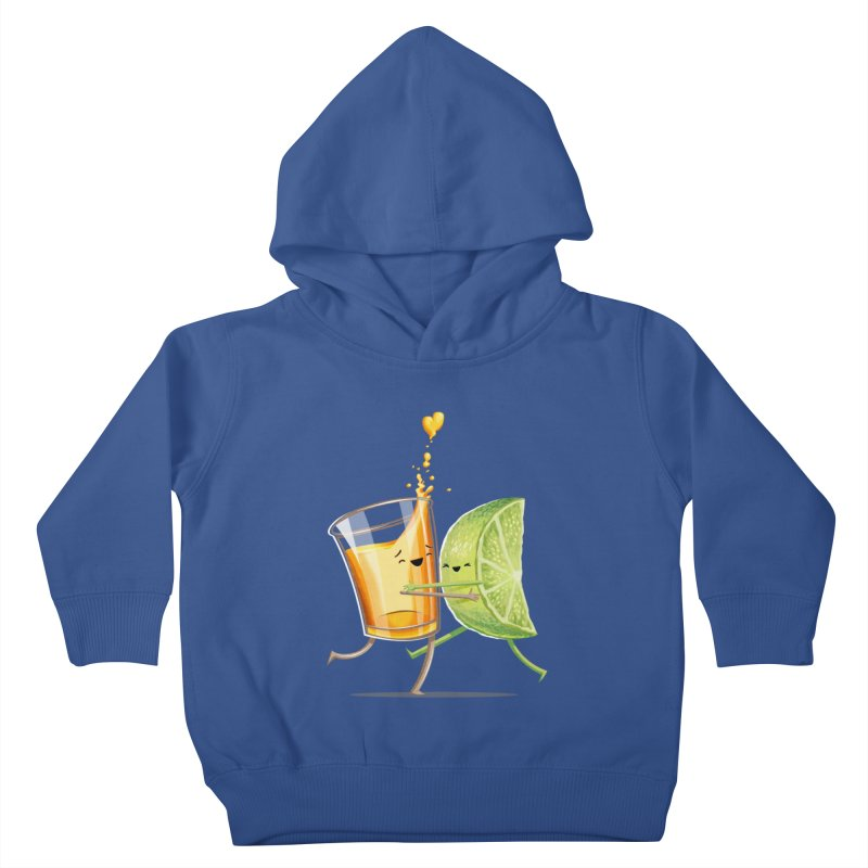Party Shot Kids Toddler Pullover Hoody by T2U