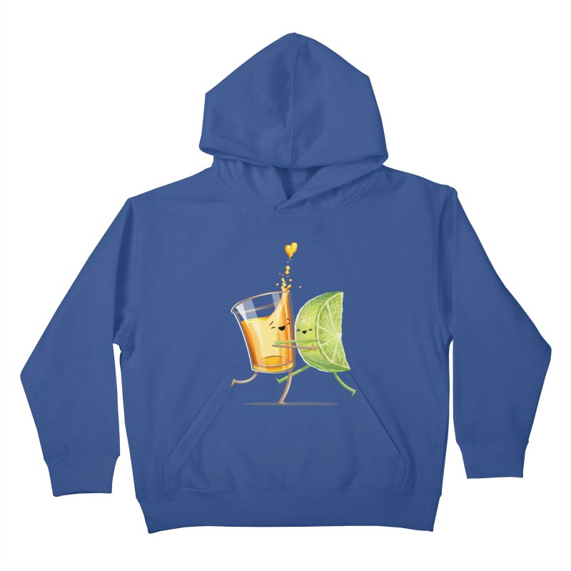 Party Shot Kids Pullover Hoody by T2U
