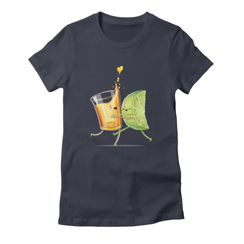 Party Shot Women's Fitted T-Shirt by T2U