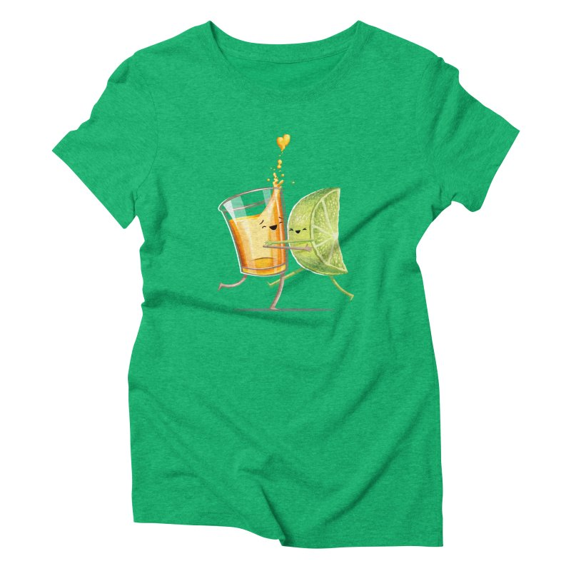 Party Shot Women's Triblend T-Shirt by T2U