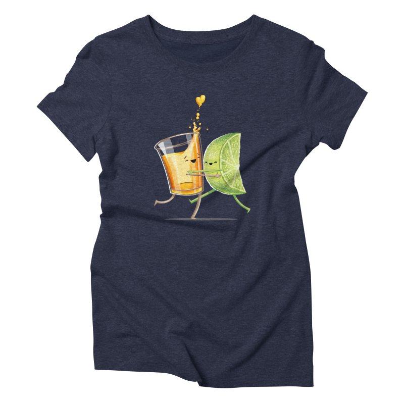 Party Shot Women's Triblend T-shirt by Tiago Möller Art Shop