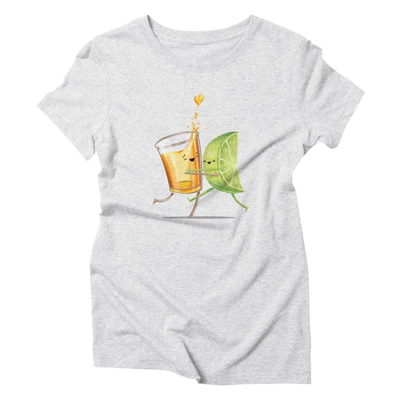 Party Shot Women's Triblend T-Shirt by T2U