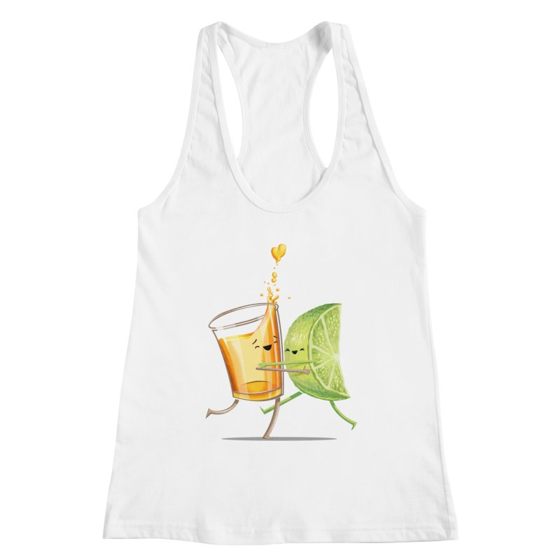 Party Shot Women's Racerback Tank by T2U
