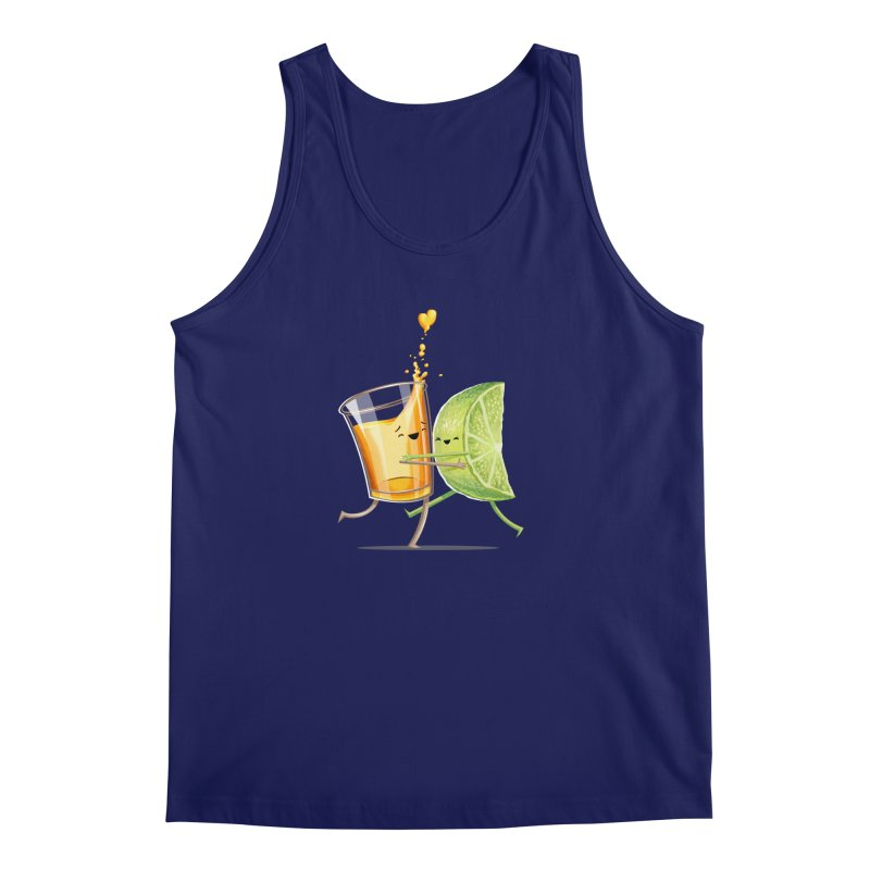 Party Shot Men's Regular Tank by T2U