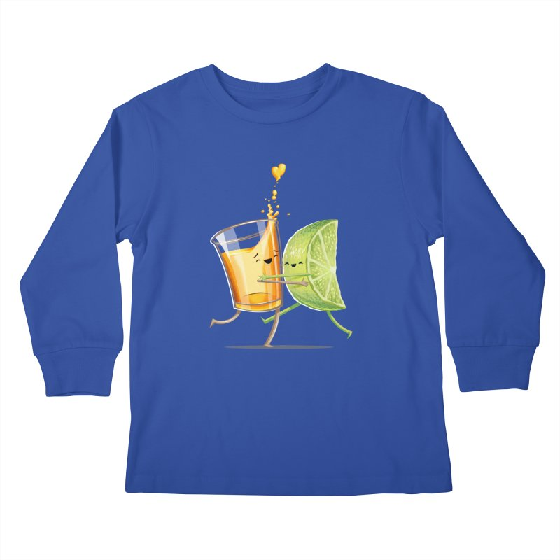 Party Shot Kids Longsleeve T-Shirt by T2U