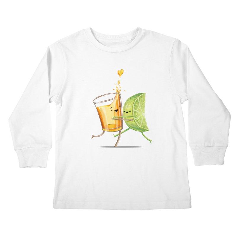 Party Shot Kids Longsleeve T-Shirt by T2U