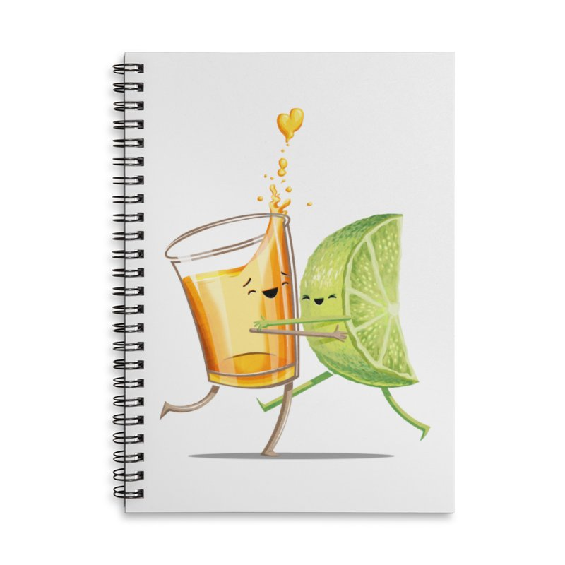 Party Shot Accessories Lined Spiral Notebook by T2U
