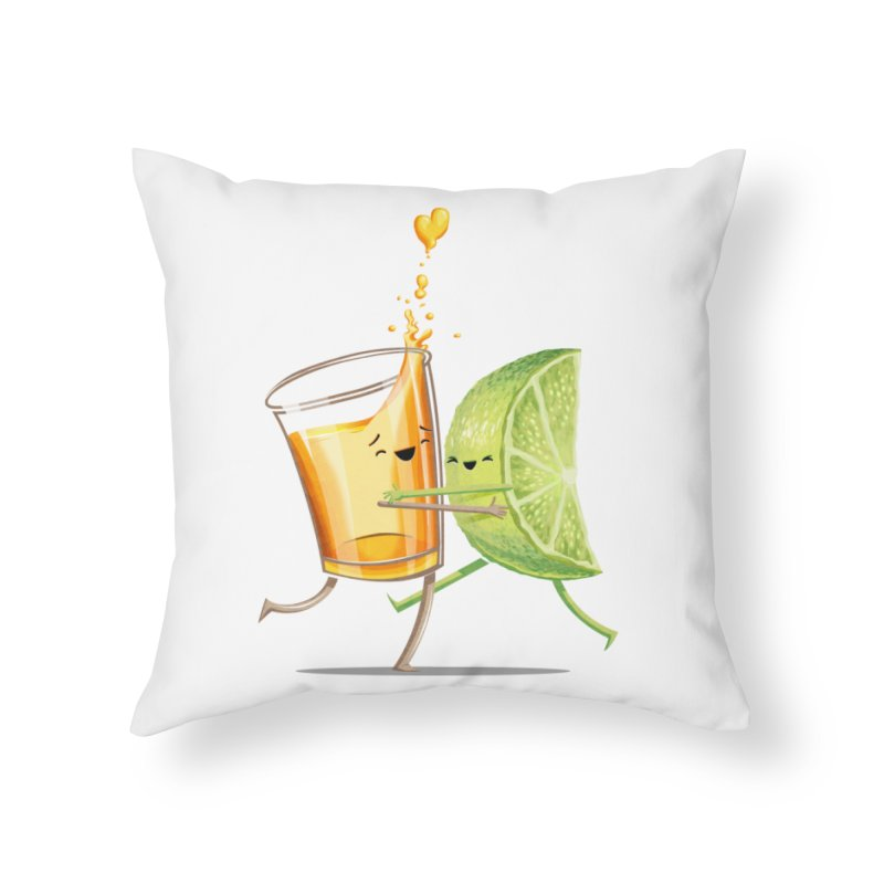 Party Shot Home Throw Pillow by T2U