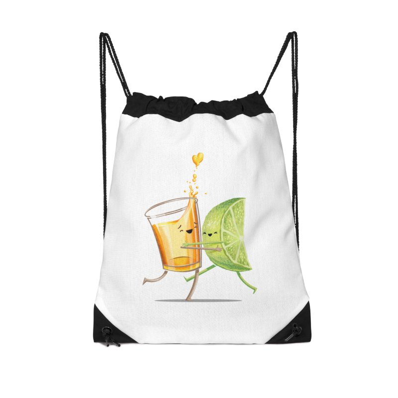 Party Shot Accessories Drawstring Bag Bag by T2U