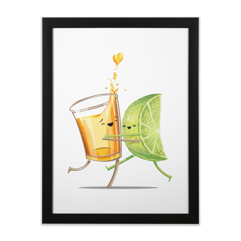 Party Shot Home Framed Fine Art Print by T2U