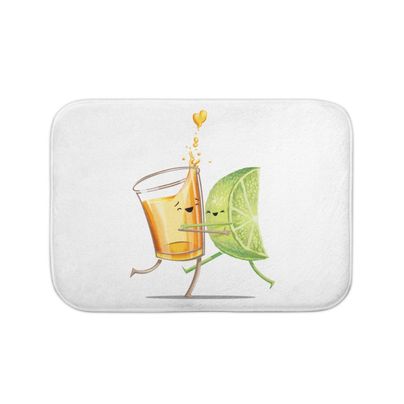 Party Shot Home Bath Mat by T2U