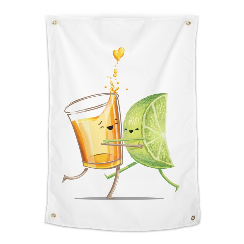 Party Shot Home Tapestry by Tiago Möller Art Shop
