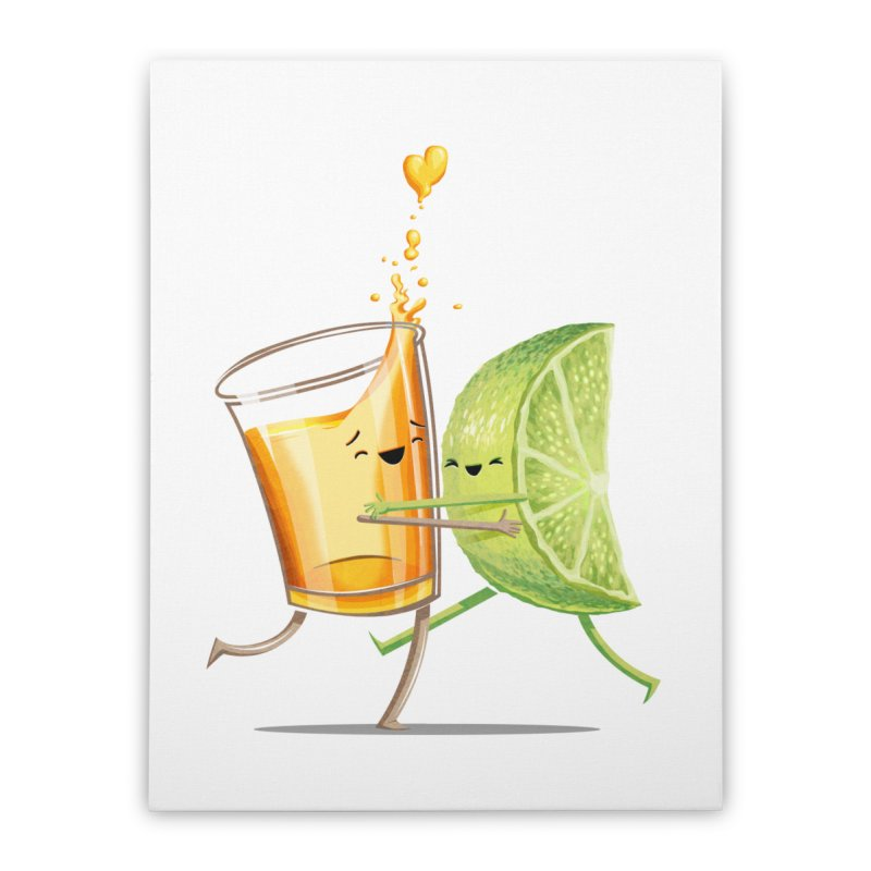 Party Shot Home Stretched Canvas by Tiago Möller Art Shop