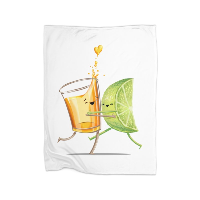 Party Shot Home Fleece Blanket Blanket by T2U