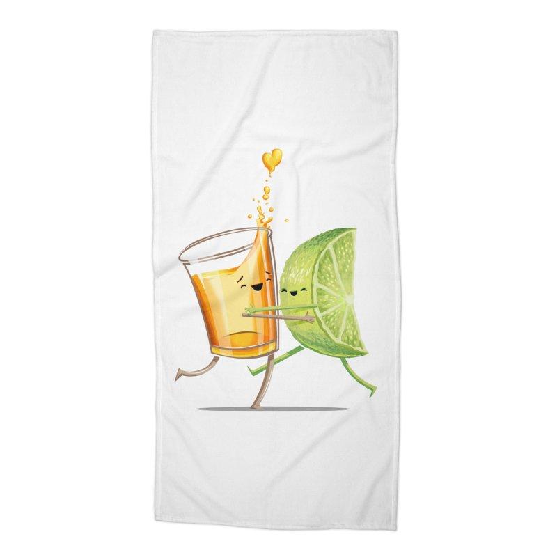 Party Shot Accessories Beach Towel by Tiago Möller Art Shop