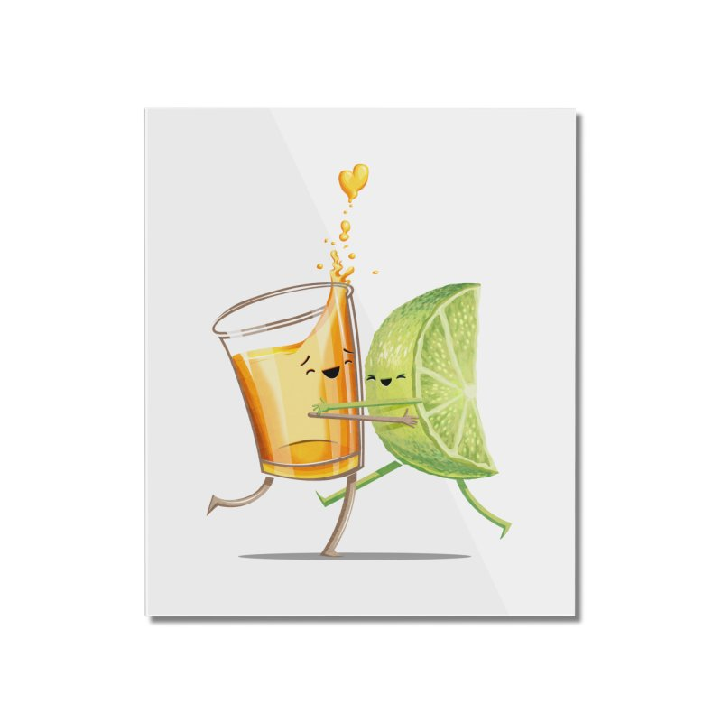 Party Shot Home Mounted Acrylic Print by T2U