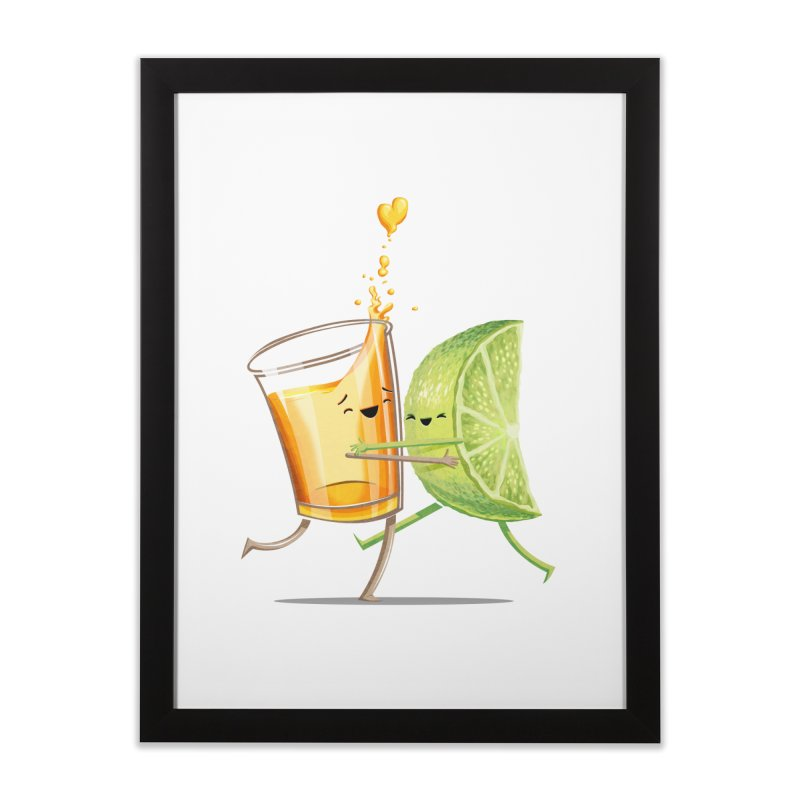 Party Shot Home Framed Fine Art Print by T2U