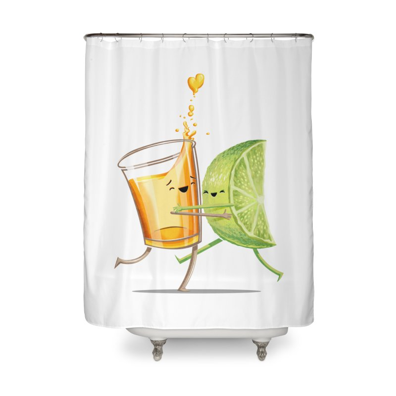 Party Shot Home Shower Curtain by T2U