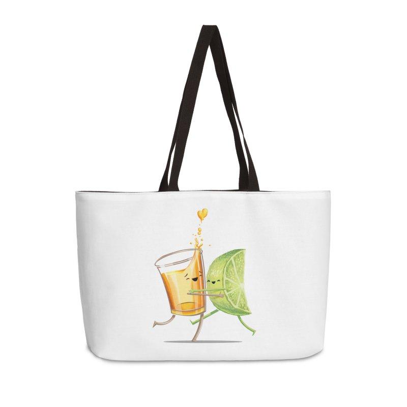 Party Shot Accessories Weekender Bag Bag by T2U