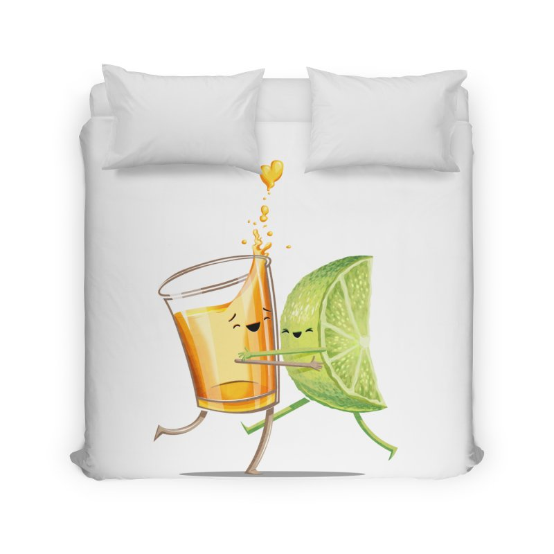 Party Shot Home Duvet by Tiago Möller Art Shop