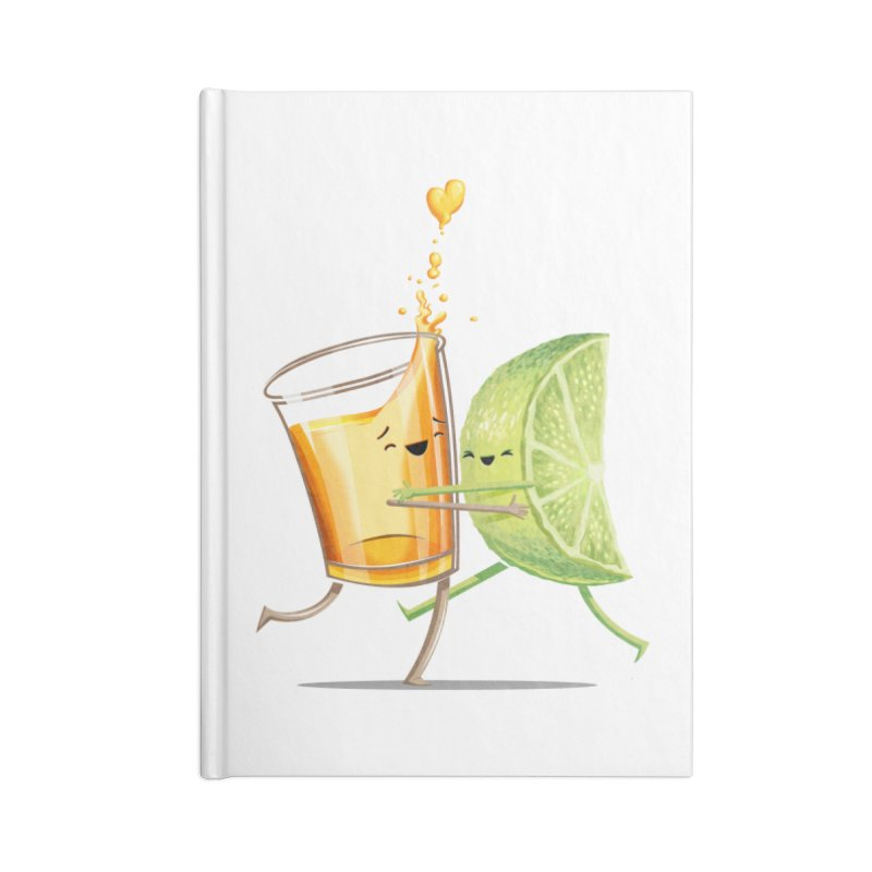 Party Shot Accessories Lined Journal Notebook by T2U