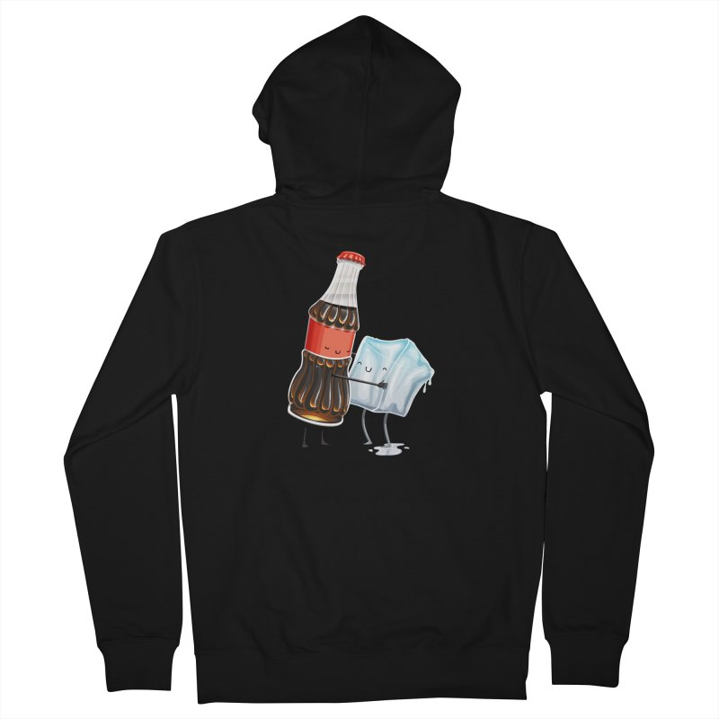 Addictive Love Men's French Terry Zip-Up Hoody by T2U