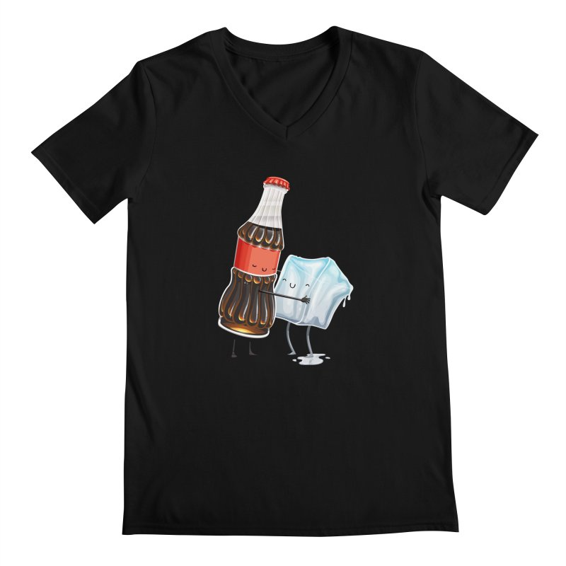 Addictive Love Men's V-Neck by Tiago Möller Art Shop