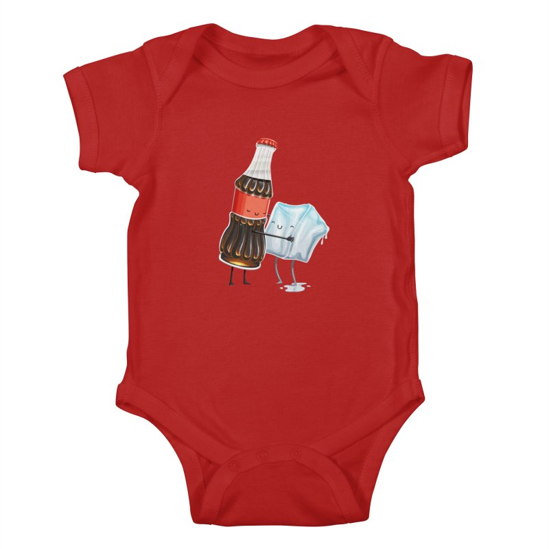 Addictive Love Kids Baby Bodysuit by Tiago Möller Art Shop