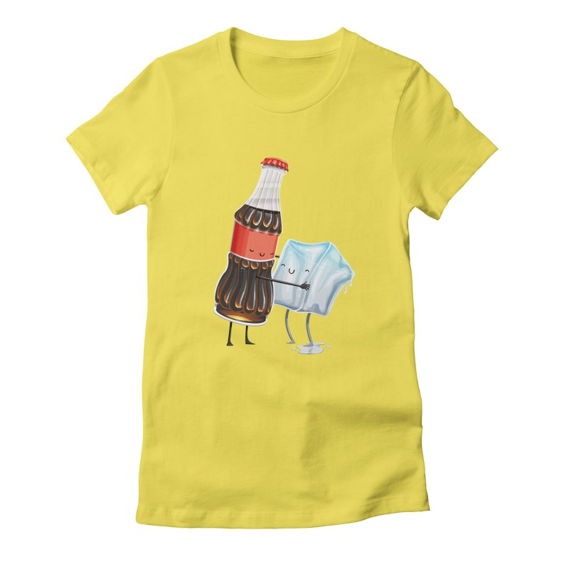 Addictive Love Women's Fitted T-Shirt by T2U