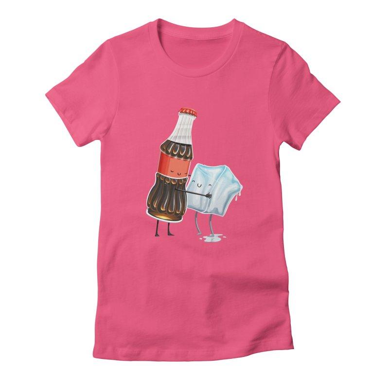 Addictive Love Women's Fitted T-Shirt by Tiago Möller Art Shop