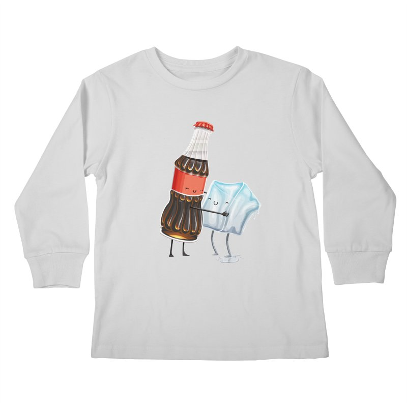 Addictive Love Kids Longsleeve T-Shirt by Tiago Möller Art Shop