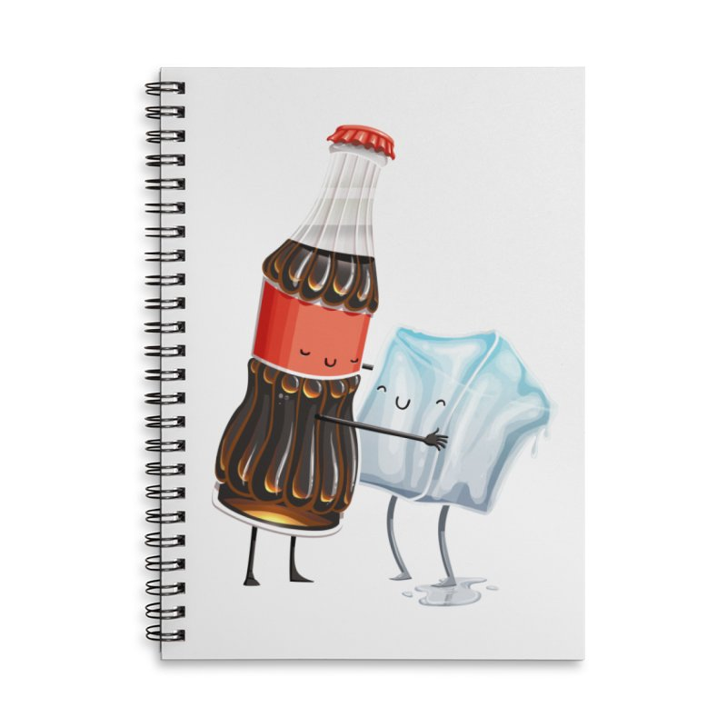 Addictive Love Accessories Lined Spiral Notebook by T2U