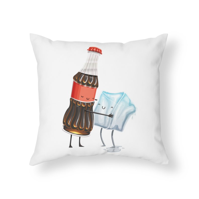 Addictive Love Home Throw Pillow by T2U
