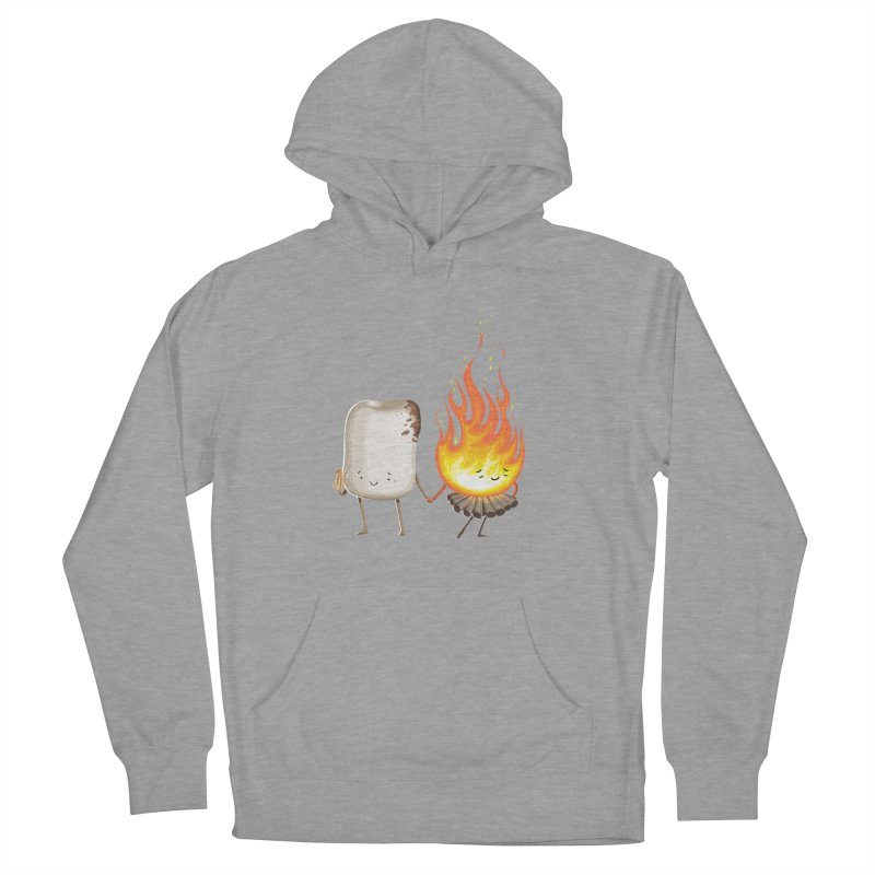 Marshmallove Women's French Terry Pullover Hoody by T2U