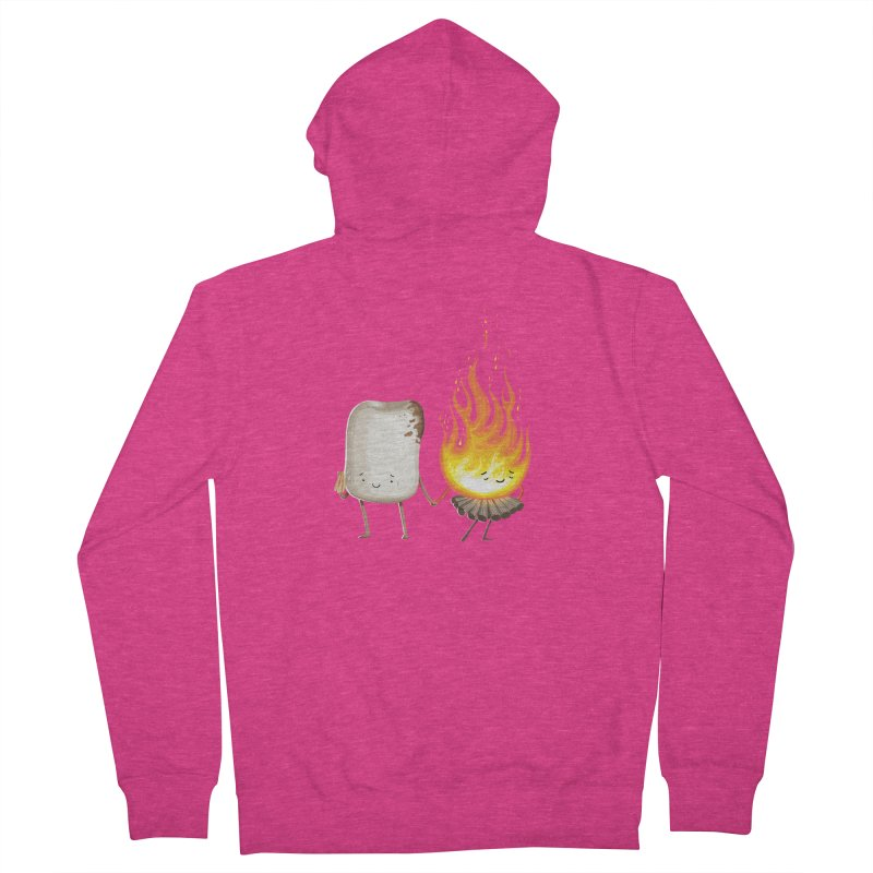Marshmallove Women's French Terry Zip-Up Hoody by T2U