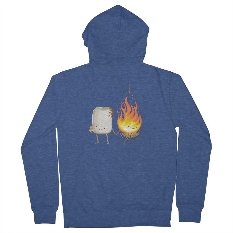 Marshmallove Men's French Terry Zip-Up Hoody by T2U