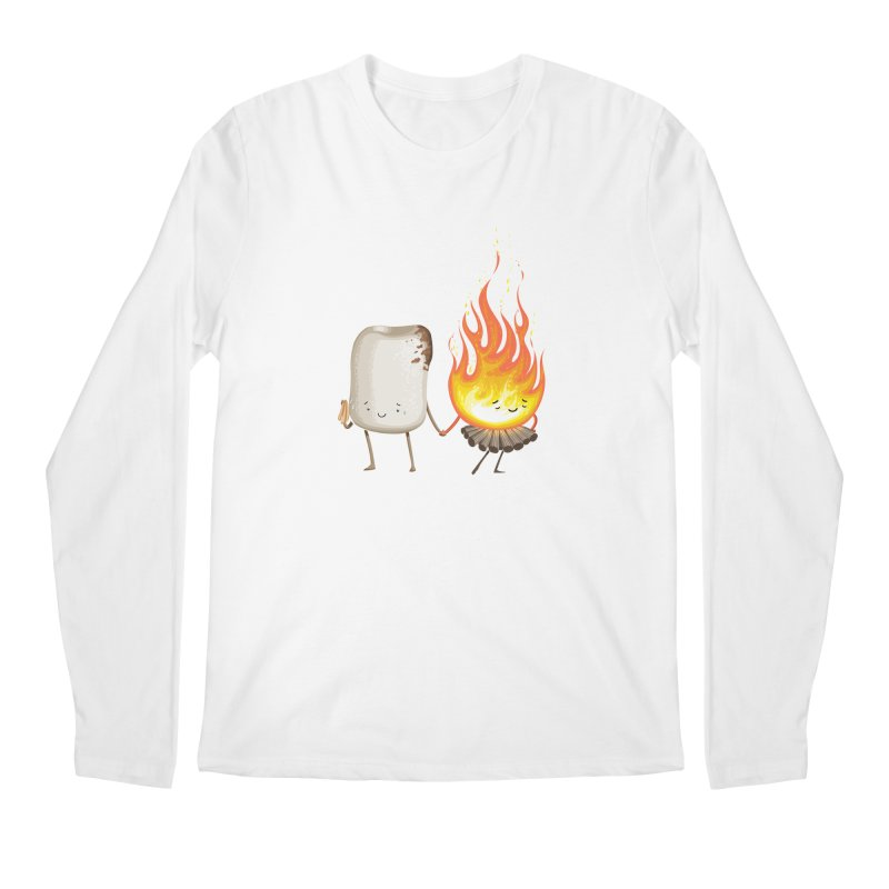 Marshmallove Men's Regular Longsleeve T-Shirt by T2U